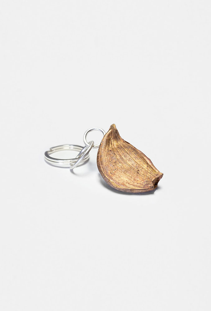 Garlic key ring
