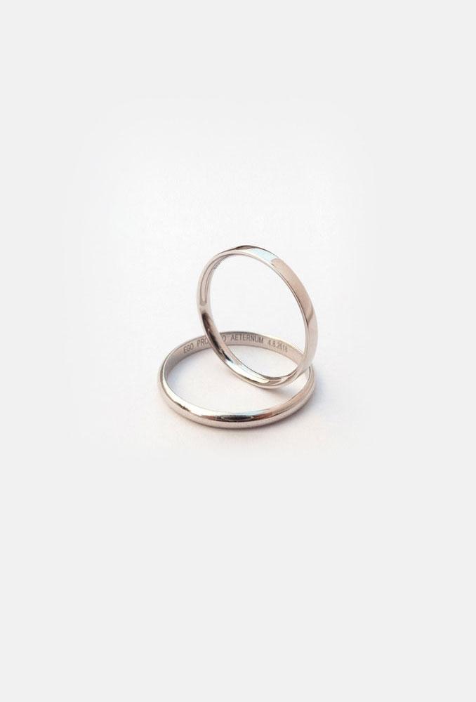 Campello white gold ring
